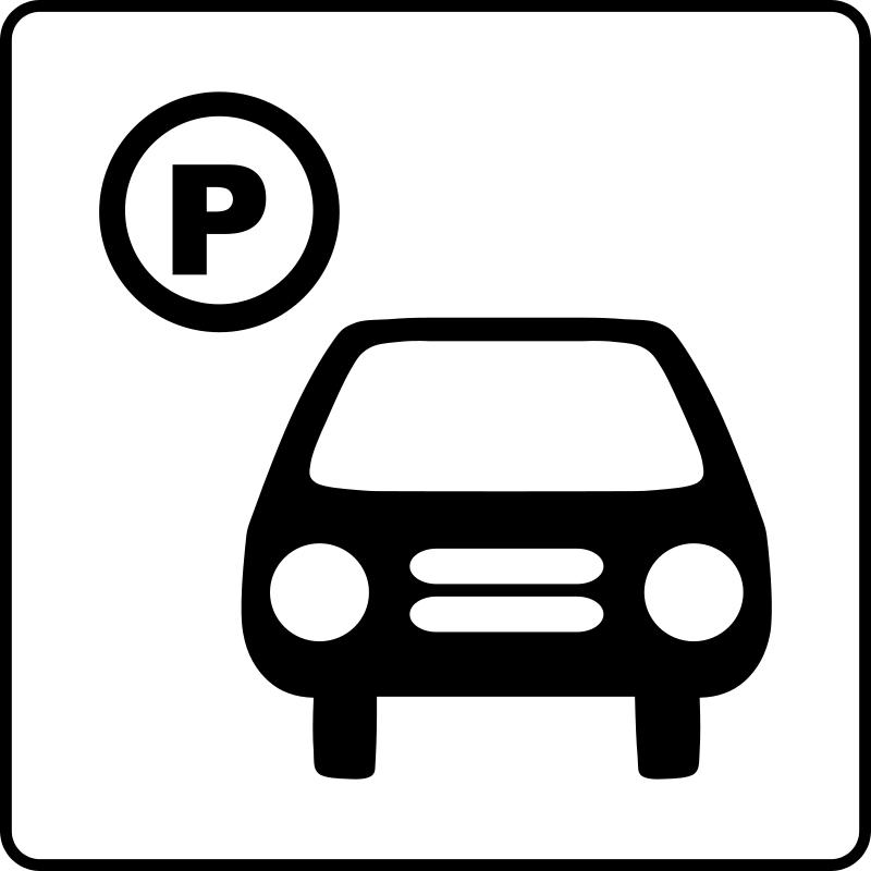 Free Hotel Icon Has Parking