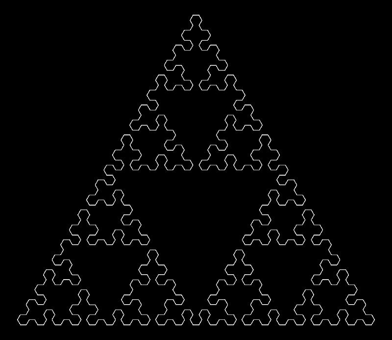 Free Sierpinskis Triangle