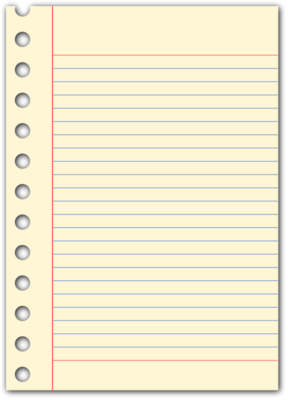 Free notepad-page