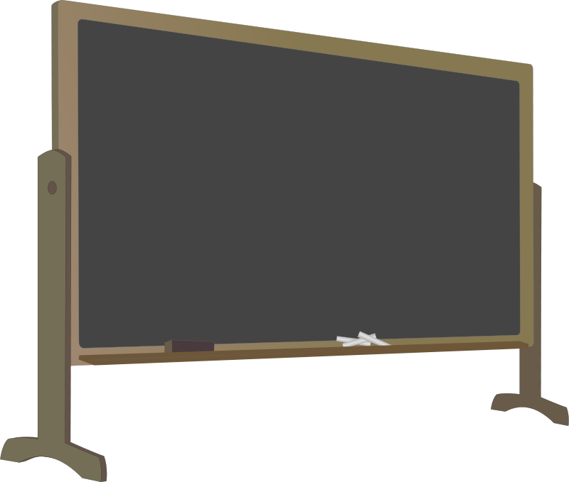 Free Blackboard with Stand