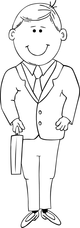 Free Man in Suit