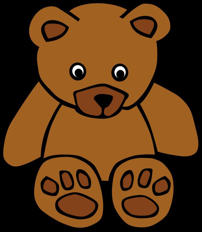 Free Simple Teddy Bear