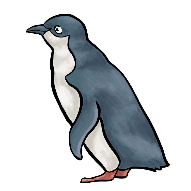 Free The LCA2010 Penguin, 'Blu'