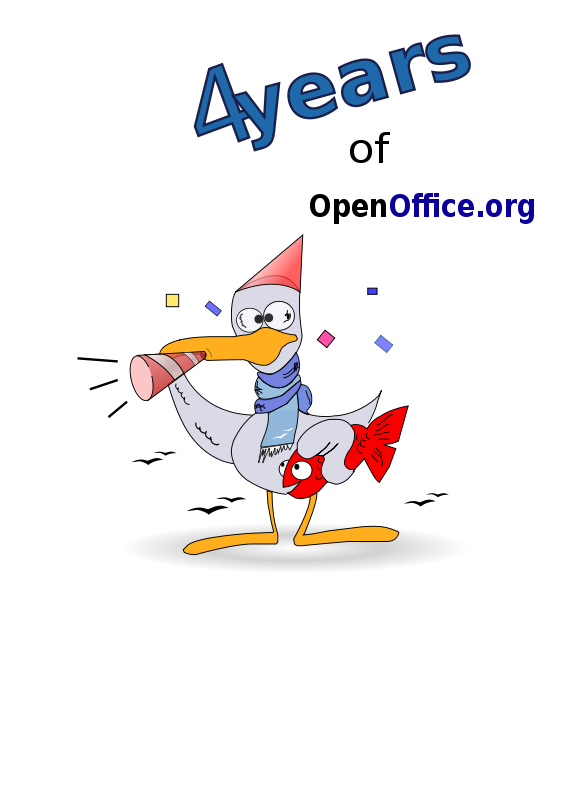 Free Otto 4 year celebration