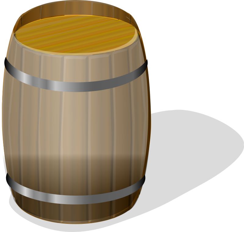 Free wooden barrel petri lumm 01