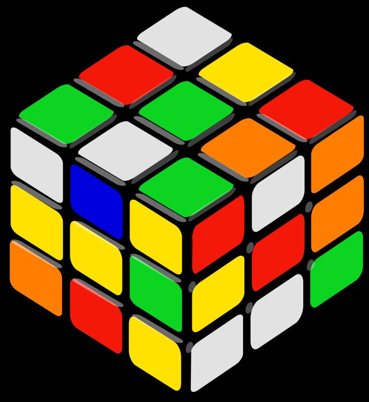 Free rubik's cube random petr 01
