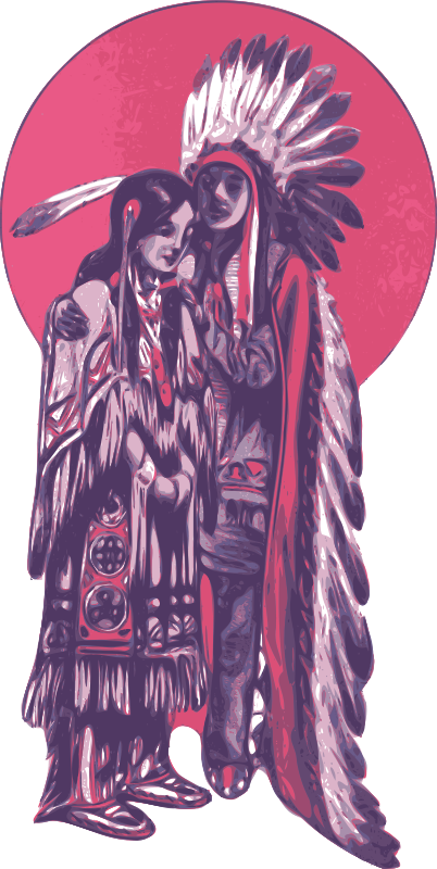 Free Native American Couple