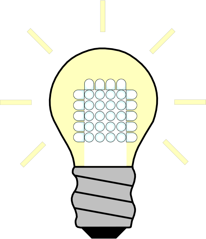 Free Light Bulb LED On