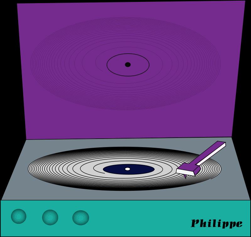 Free vinyl disc philippe coli 01