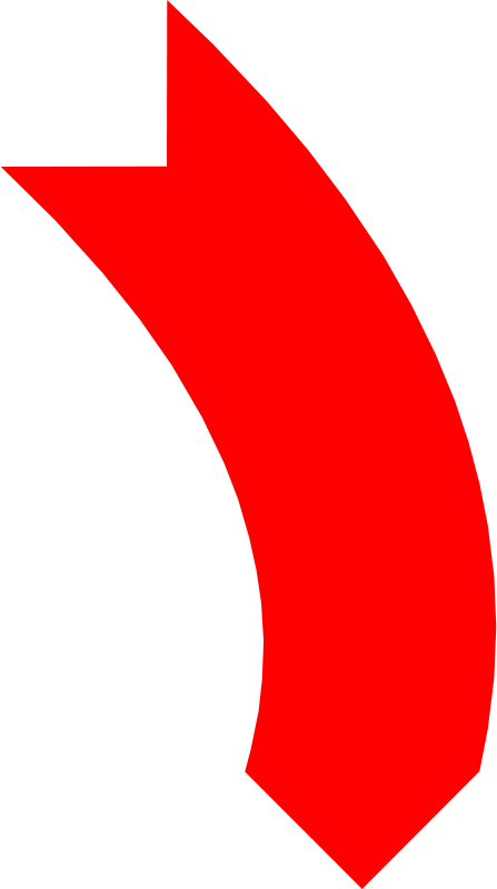 Free Arrow Down Red
