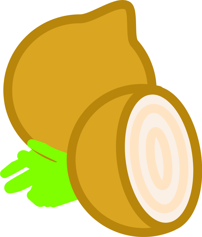 Free Clipart: Onion | hextrust