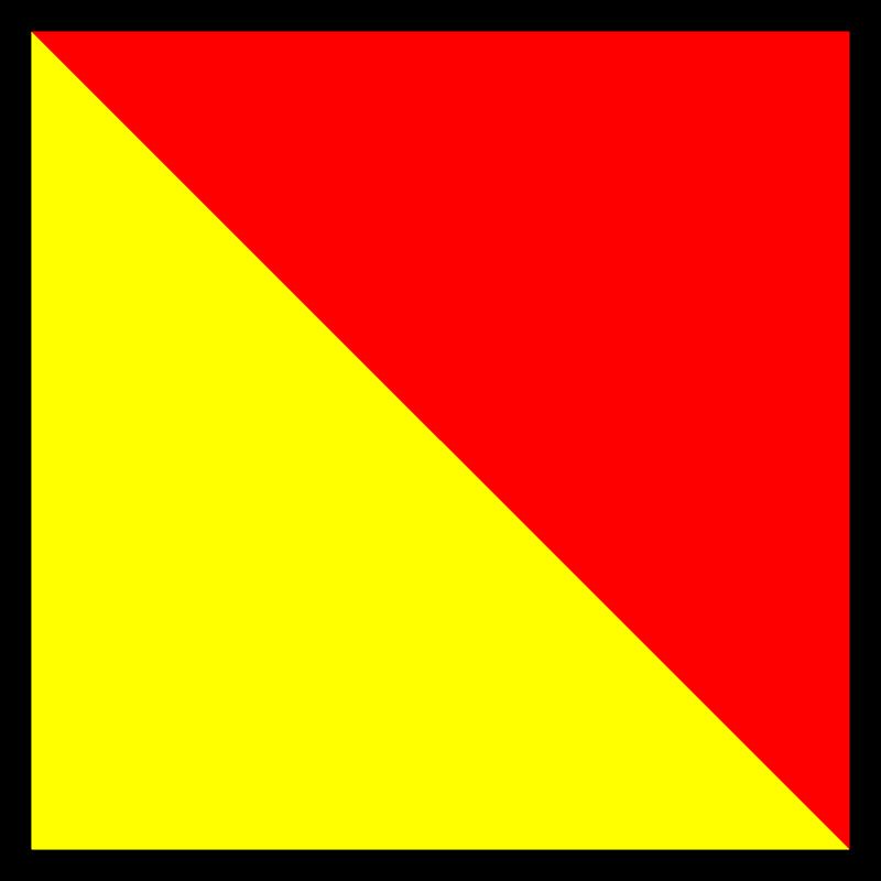 Free signalflag oscar