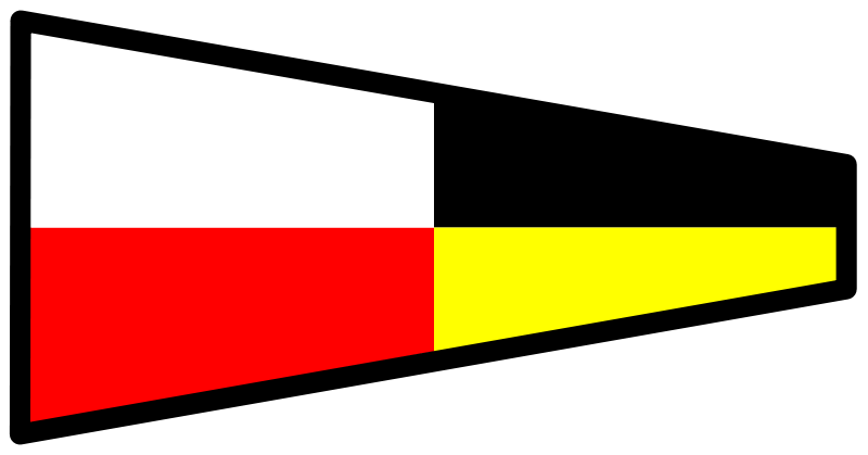 Free signalflag 9