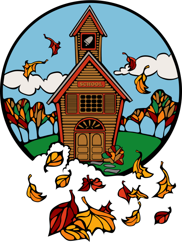 Image result for fall school clip art