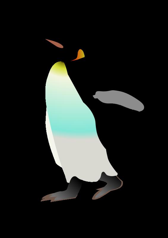 Free emperor penguin