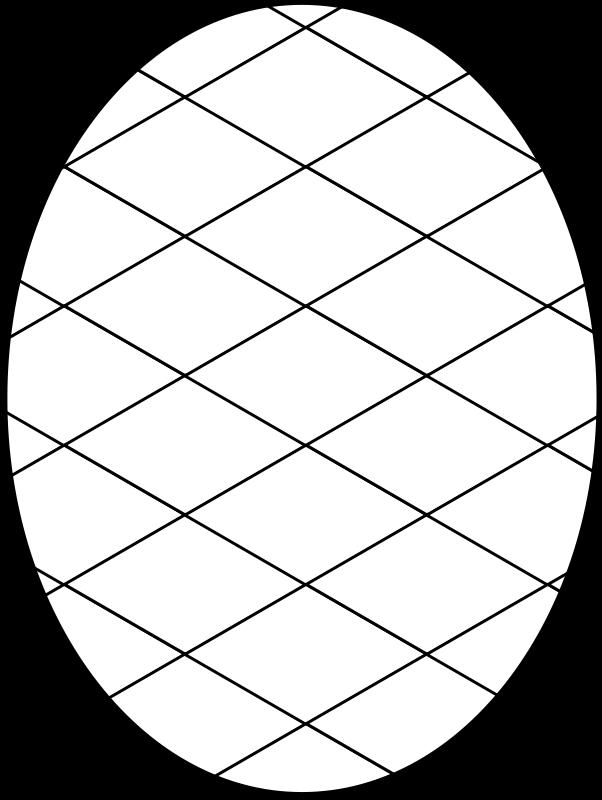 Free pattern diamond outline