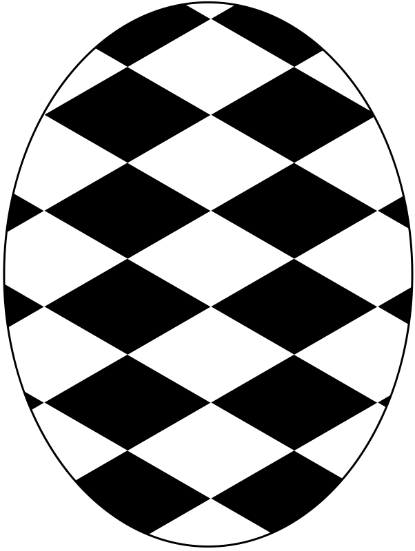 Free pattern diamond checkered