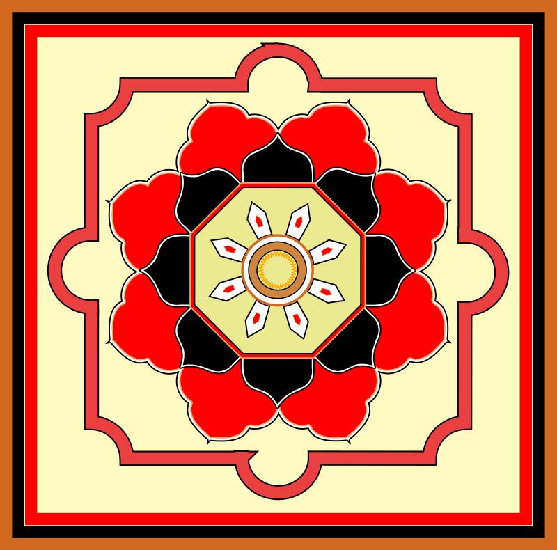 Free Orient carpet design