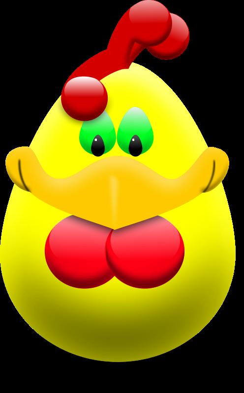 Free Easter Egg Hen