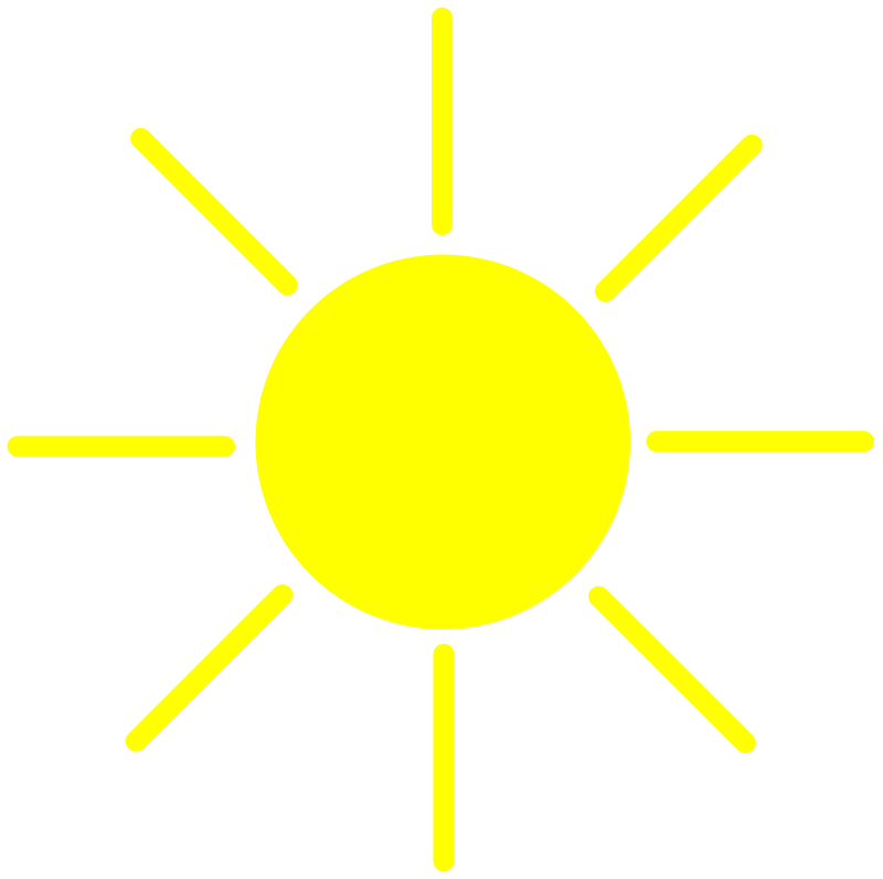 Free Clipart: Sun Yellow | palomaironique