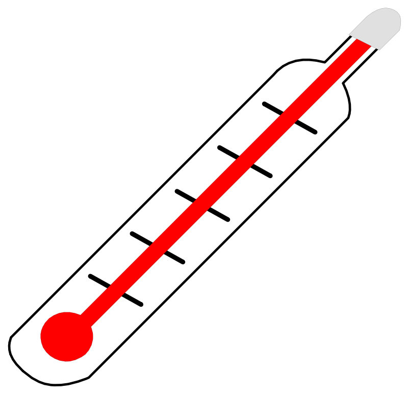 free clipart thermometer hot palomaironique rh 1001freedownloads com cold thermometer clip art free free printable thermometer clip art