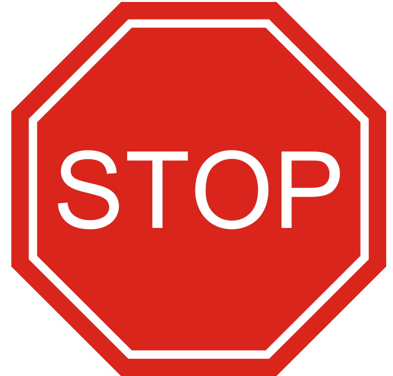 Free Clipart: Stop Sign | palomaironique