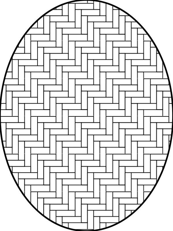 Free pattern herringbone outline
