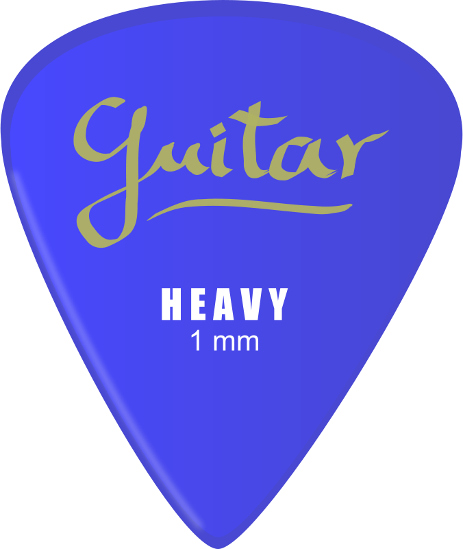 Free Clipart: Guitar pick | J_Alves