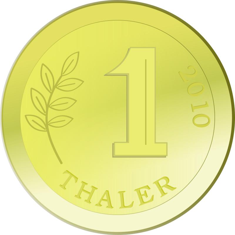 Free One golden coin