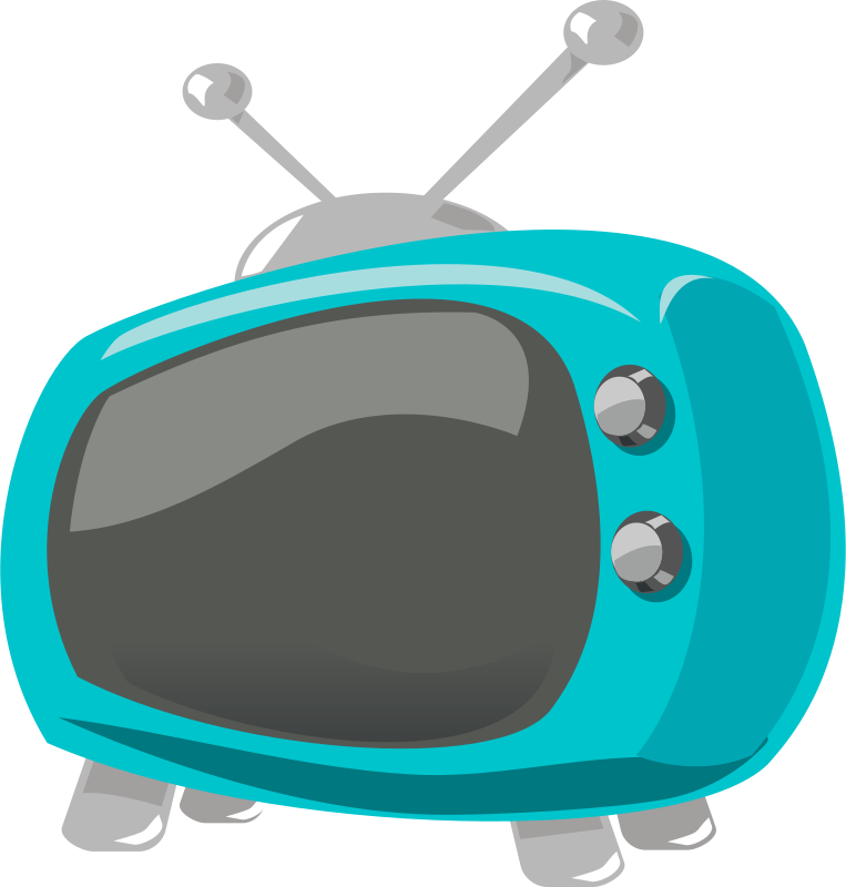Free television comic style