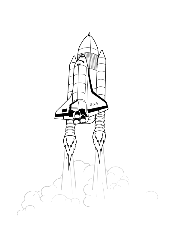 Free Shuttle Launch iss activity sheet p2