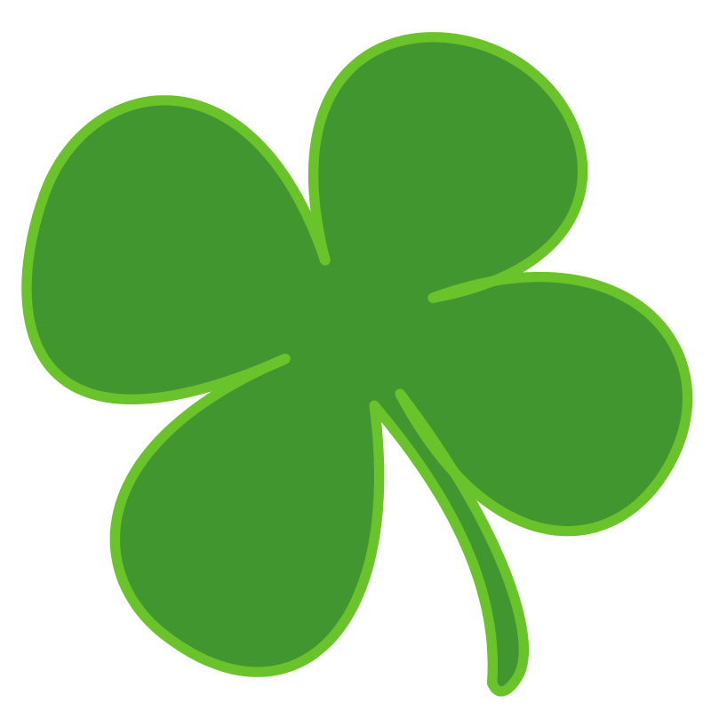 free clipart 4 leaf clover anonymous