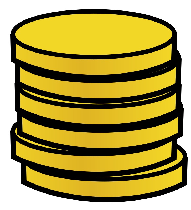 Free Stack of gold coins