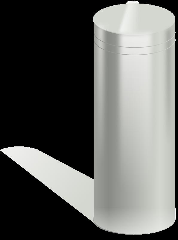 Free metallic tube