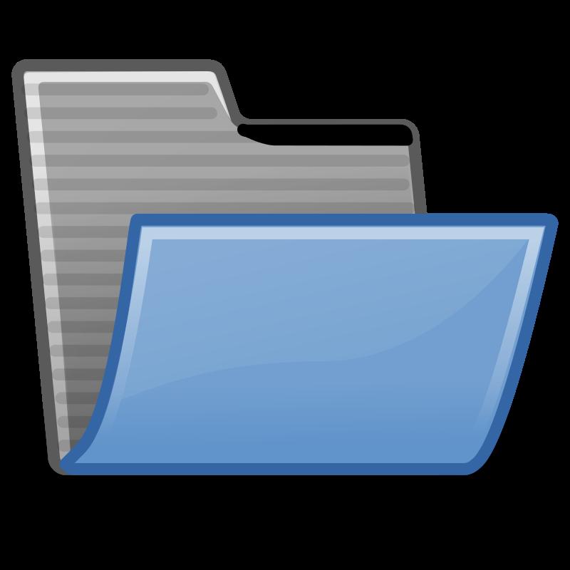 Free tango folder open
