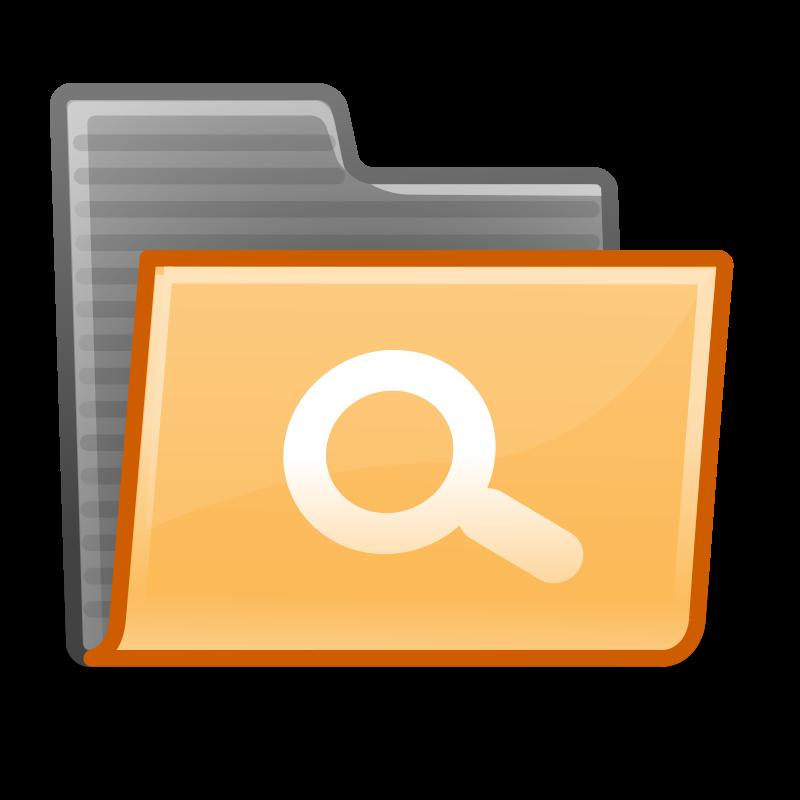 Free tango folder saved search