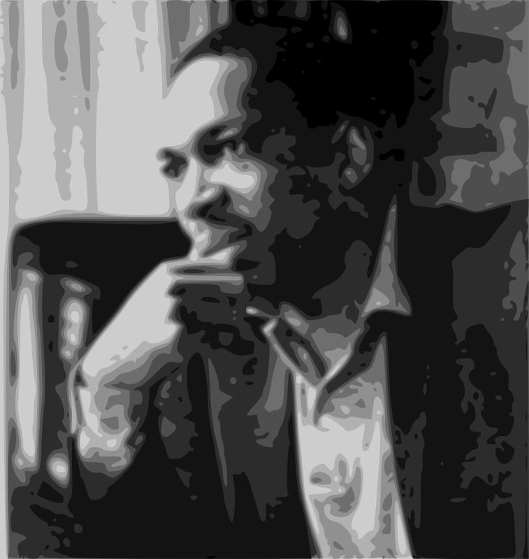Free John Coltrane portrait