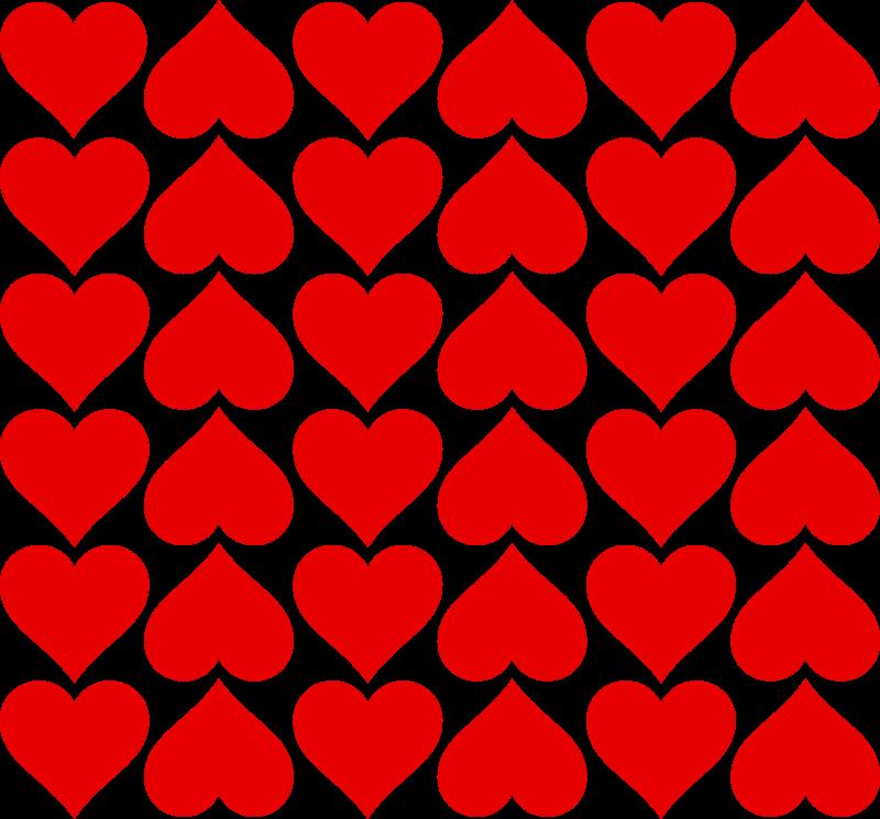 Free heart tiles