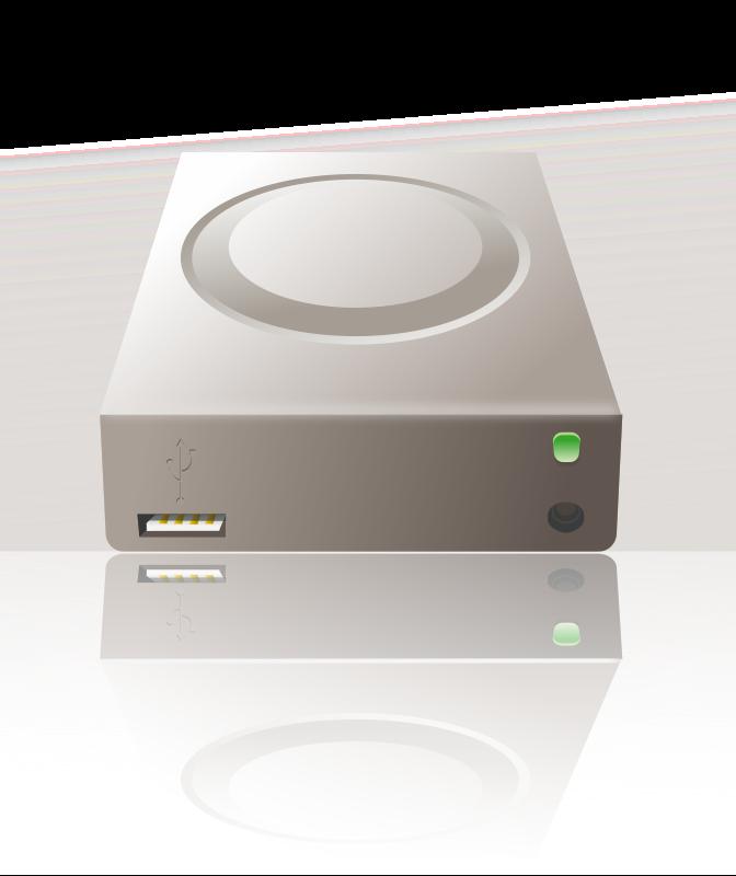 Free usb external disk reflected