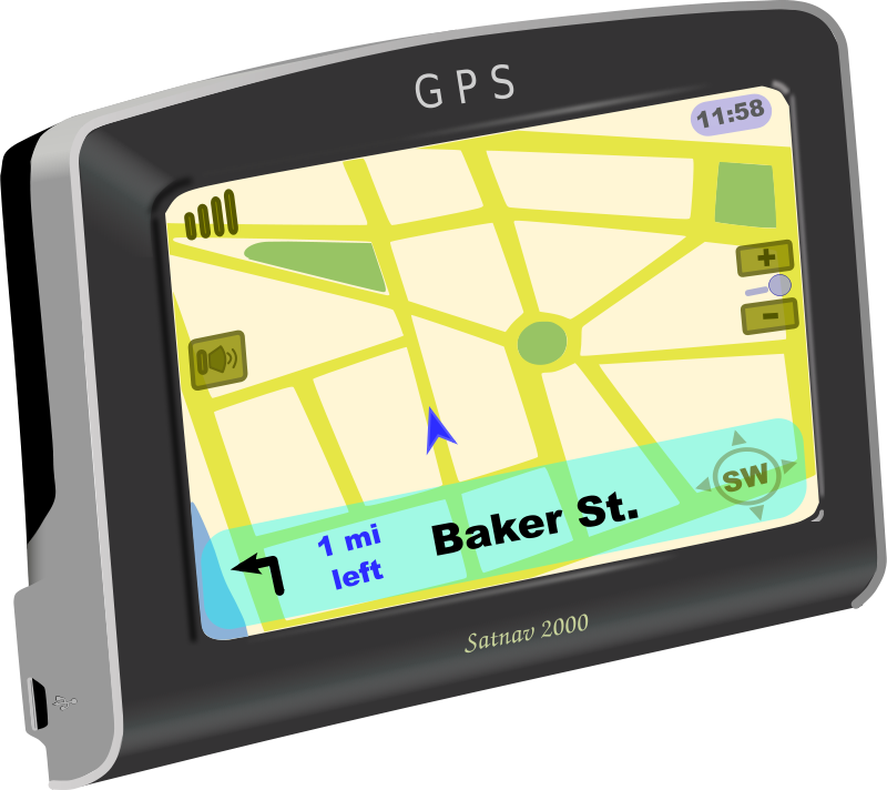 Free Clipart: GPS on | J_Alves