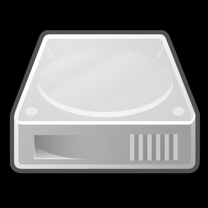 Free Clipart: Tango drive hard disk | warszawianka