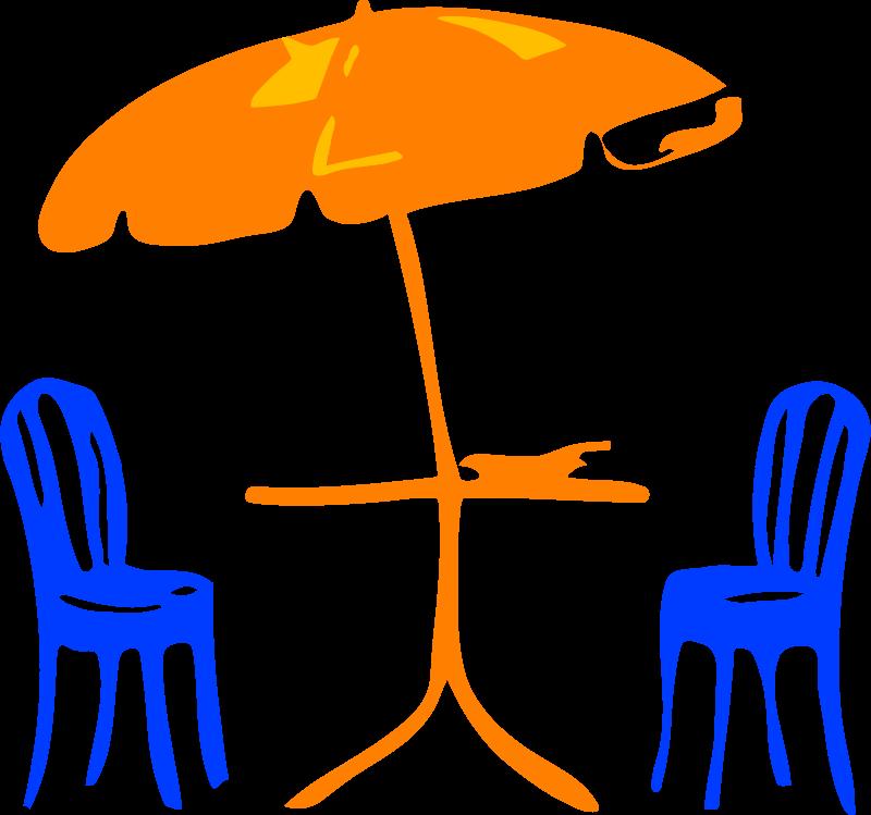 Free Architetto -- sedia e ombrelloni