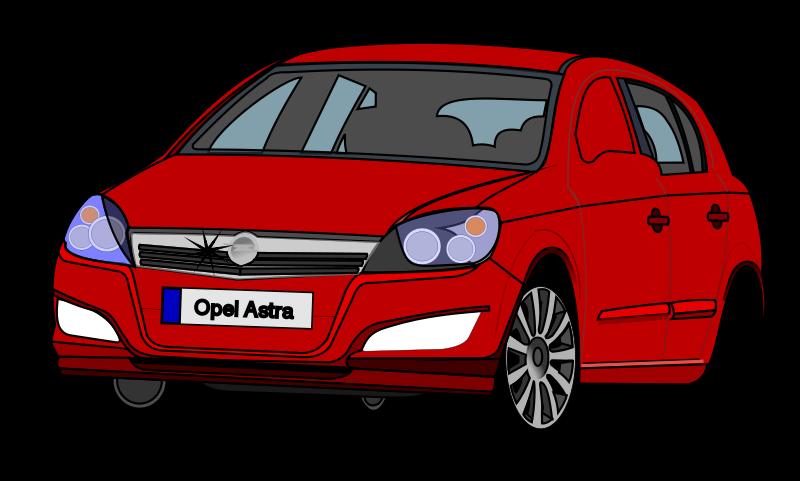 Free Clipart: Opel Astra | wollebolleke