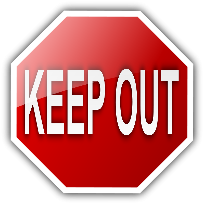 Free KEEP OUT