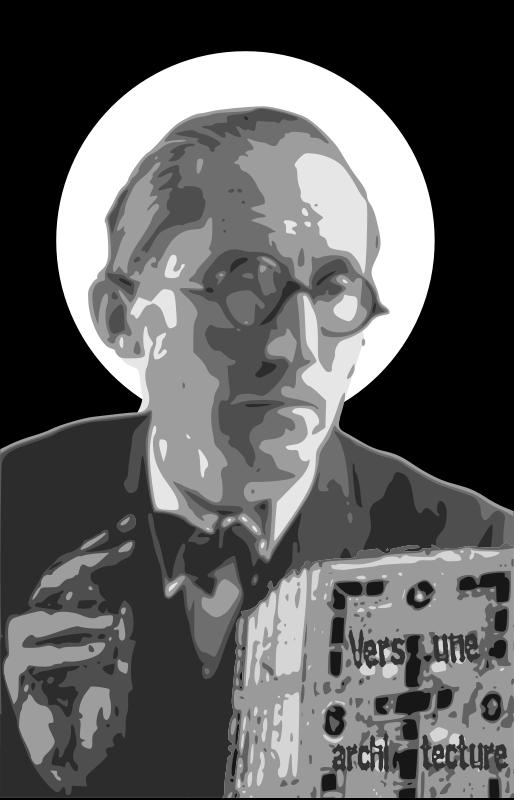 Free Saint Le Corbusier