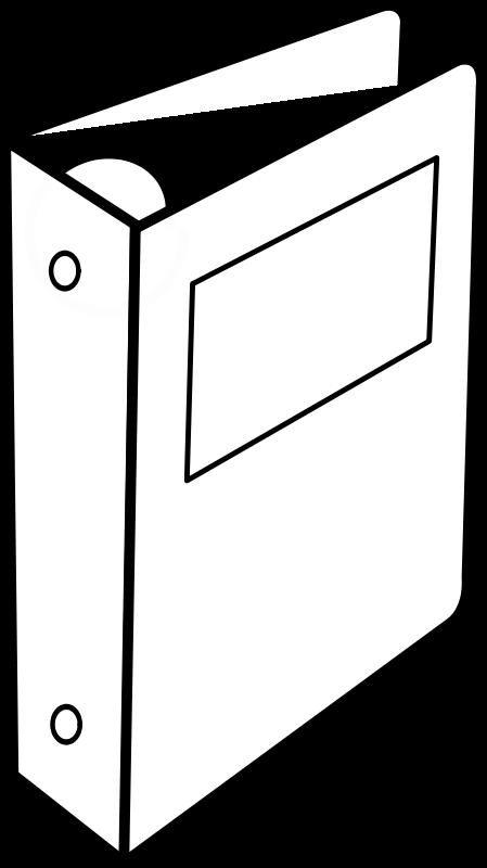 Free Clipart Cartable A Anneaux Binder Lmproulx
