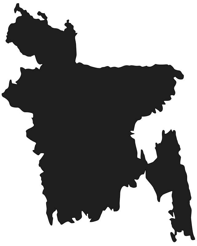 Free Map of Bangladesh