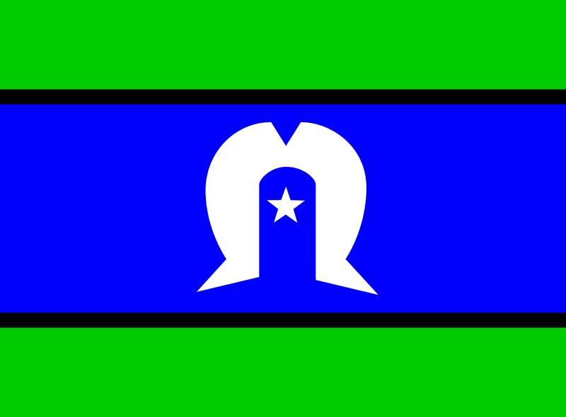 Free Flag of the Torres Strait Islanders