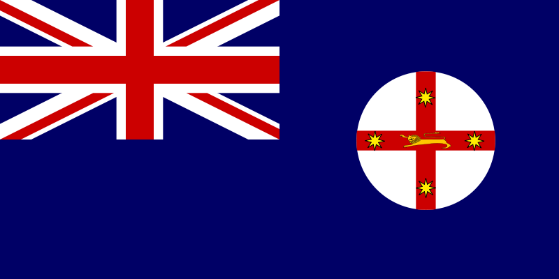 Free Flag of New South Wales Australia