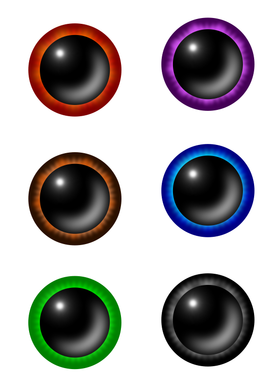 Free Colorful Eyes